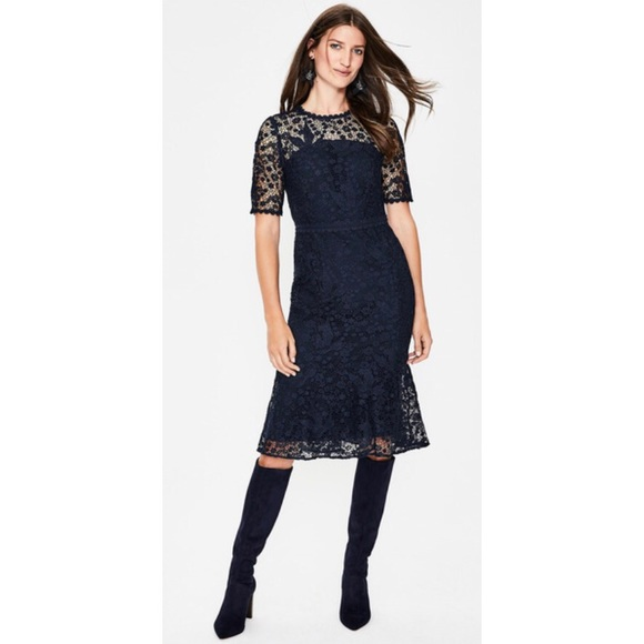 6a27cd8a0e3a Boden Dresses | Bryony Lace Dress W0236 Nwot | Poshmark